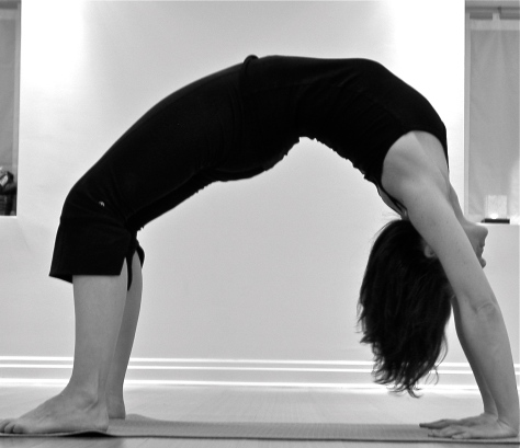 Asana practice:  Urdhva Dhanurasana