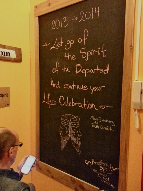 Restless Spirit Blackboard: The making of...